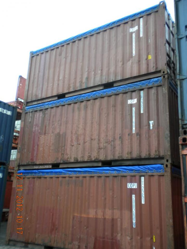 20 fuss open top see lagercontainer gebraucht. Black Bedroom Furniture Sets. Home Design Ideas