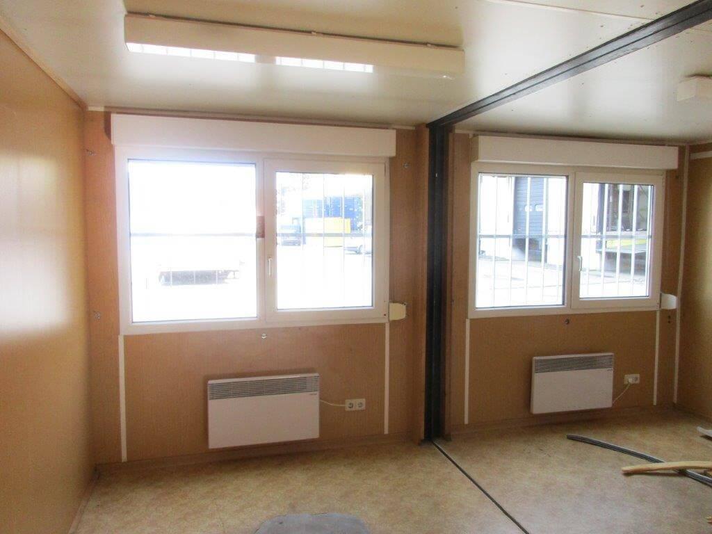 3 fach b rocontaineranlage gebraucht. Black Bedroom Furniture Sets. Home Design Ideas