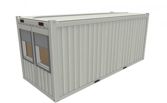 neuen b rocontainer kaufen von jb containerhandel. Black Bedroom Furniture Sets. Home Design Ideas